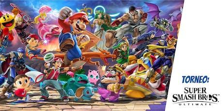 Torneo de Super Smash Bros. Ultimate boletos