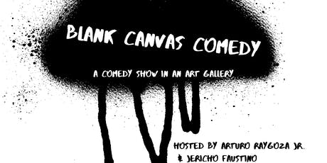 Blank Canvas Comedy: A Comedy Show In An Art Gallery tickets