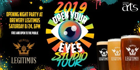 Open Your Eyes Studio Tour Opening Night Party! tickets