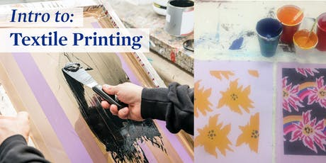 Intro to Textile Printing tickets