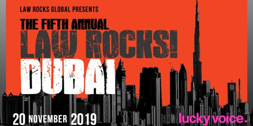 5th Annual Law Rocks! Dubai