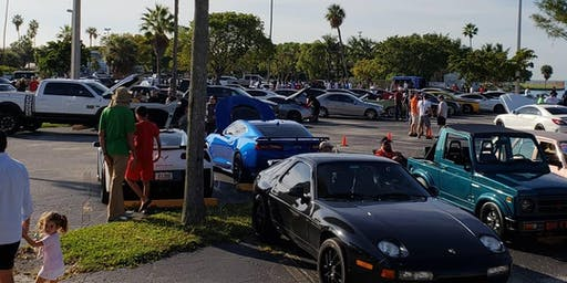Food truck and Cars & Coffee Key Biscayne