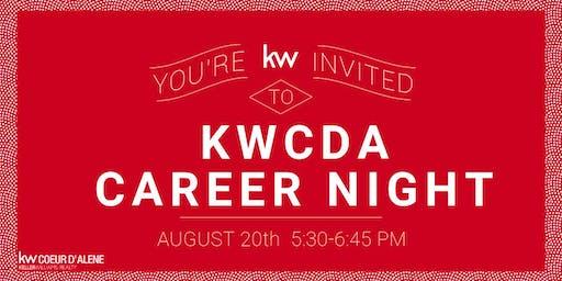 KWCDA August Career Night