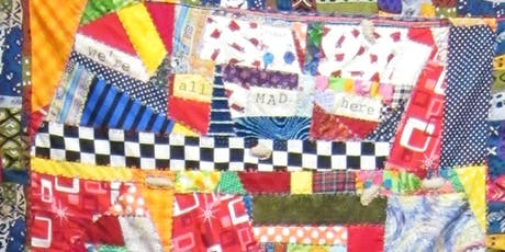 Crazy Quilting with local Madwoman Diane Wood - Aug 11 tickets