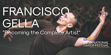 Francisco Gella Workshop | International Dance Festival in Palm Springs tickets