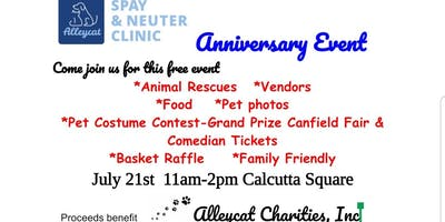 Alleycat Spay & Neuter Clinic Anniversary Party