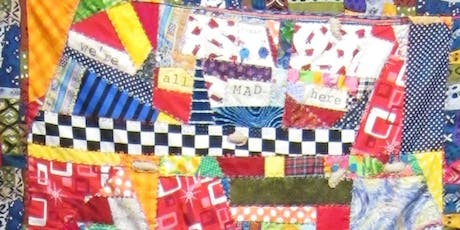 Crazy Quilting with local Madwoman Diane Wood - Sep 8 tickets