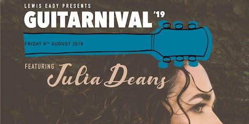 Guitarnival 2019 featuring Julia Deans