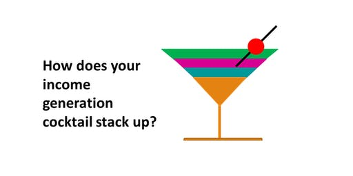 Shaking up your funding & income generation cocktail