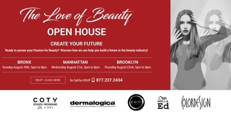 The Love of Beauty - Open House tickets