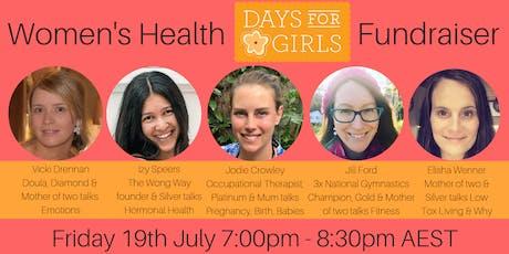 Women's Health Workshop Fundraising Event tickets