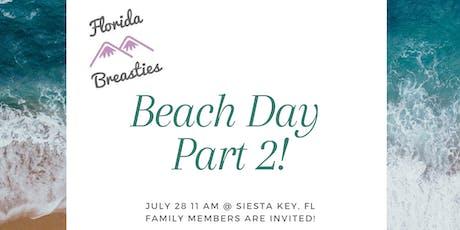 Florida Breasties West Coast Beach Meetup Part 2 tickets