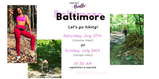 Well with Brielle: Let's go hiking!