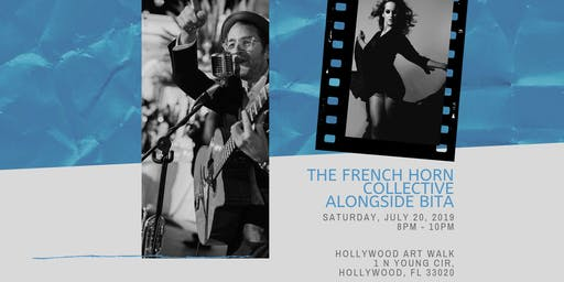 The French Horn Collective & Bita at Hollywood Art Walk