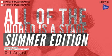 All of the World is a Stage - Summer Edition tickets