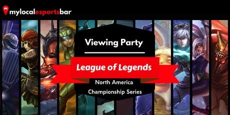 League of Legends Viewing Party tickets
