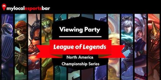 League of Legends Viewing Party