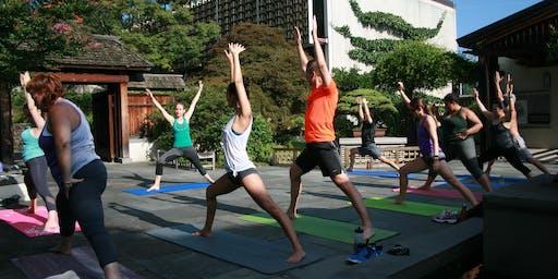 Yoga Amongst the Bonsai (Fall 2019)