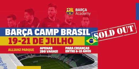 Barça Camp Brasil ingressos