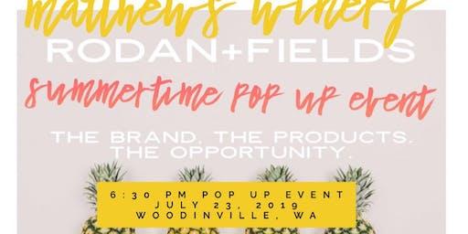 Woodinville R+F Corporate Pop Up Event