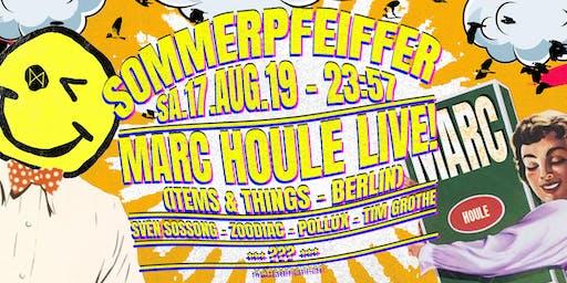 Sommerpfeiffer ✦ Marc Houle live! (Items & Things - Berlin)