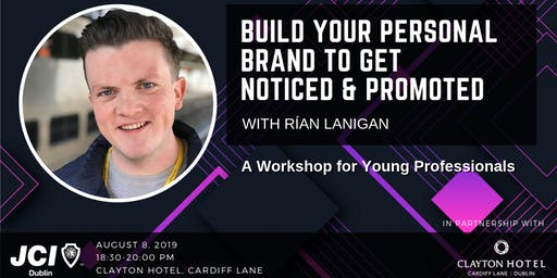 Build your personal brand to get noticed & promoted