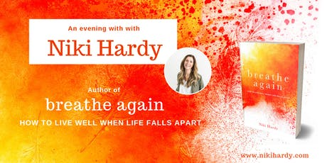 An evening with Niki Hardy. Author of Breathe Again. tickets