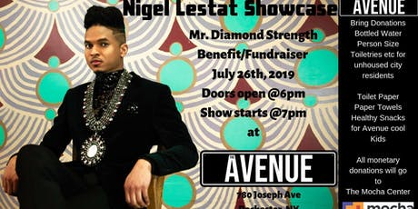 Nigel Lestat Showcase and Fundraiser @ The Avenue tickets