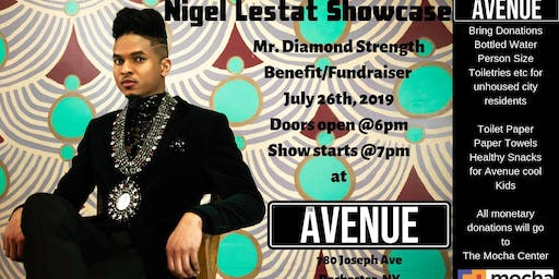 Nigel Lestat Showcase and Fundraiser @ The Avenue