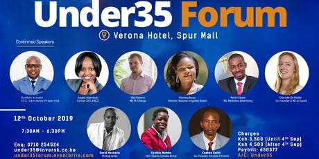Under35 Forum tickets