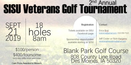 SISU's 2nd Annual Veterans Golf Tournament tickets