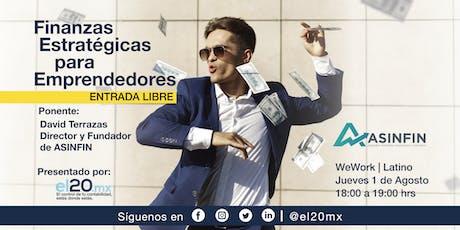 Cortesía Finanzas Estratégicas WeWork Reforma Latino entradas