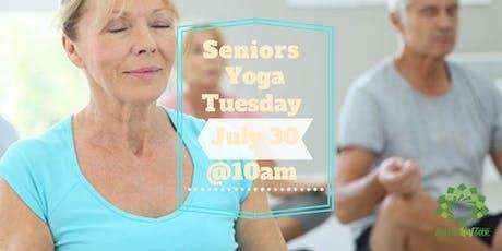 Seniors Yoga at Sacred Leaf Zero tickets
