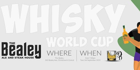 Whisky World Cup - The Bealey tickets