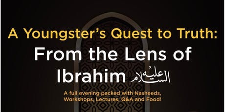 A Youngster's Quest to Truth: From the Lens of Ibrahim tickets