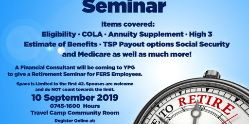 FERS Retirement Seminar