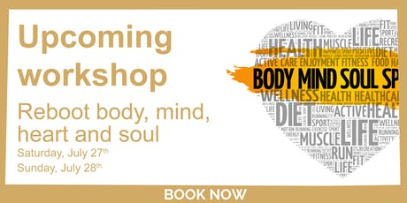 Reboot Mind, Body, Heart and Soul  tickets