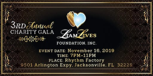 Liam Lives Foundation, Inc. 3rd Annual Charity Gal