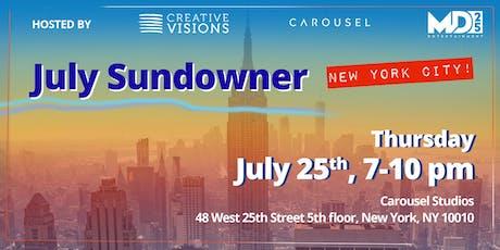 Creative Visions New York City July Sundowner  tickets