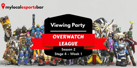 Overwatch Viewing Party tickets