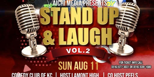 Stand Up & Laugh Vol.2