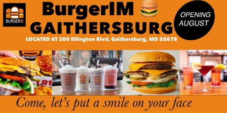 BurgerIM Crown Gaithersburg opens in August 2019 tickets