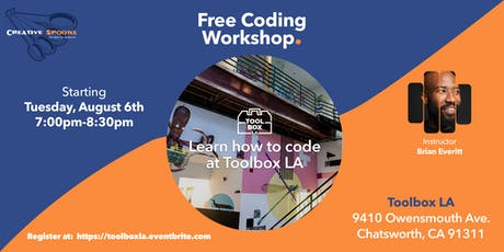 Free Coding Bootcamp tickets