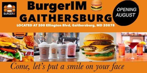 BurgerIM Crown Gaithersburg opens in August, 2019