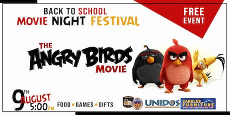 Angry Bird Back to School Movie Night Fest (Grand Praire) tickets