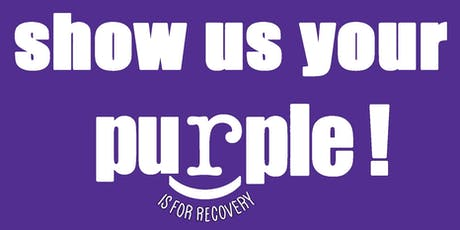 Show Us Your Purple! Recovery Walk tickets