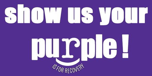 Show Us Your Purple! Recovery Walk