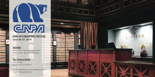 CNPA Quarterly Meeting | October 2019