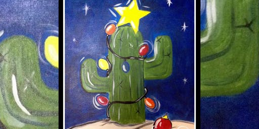 $10 Tuesday: Xmas in July! Prickly Tree in Lights