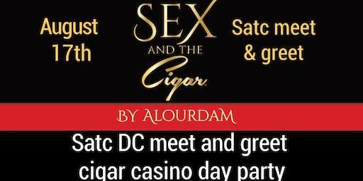 SATC DC MEET & GREET CIGAR CASINO DAY PARTY